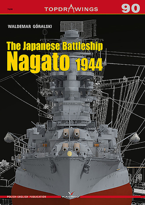 The Japanese Battleship Nagato 1944 (Topdrawings #7090) Cover Image