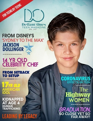 Defiant Ones Teen Magazine: April 2020, Volume 5 Cover Image
