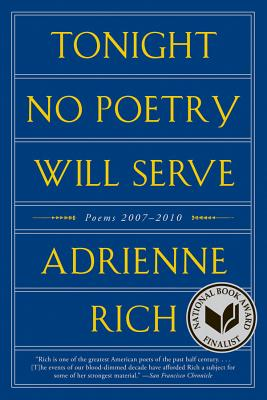 Tonight No Poetry Will Serve Cover