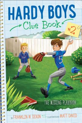 The Missing Playbook (Hardy Boys Clue Book #2) Cover Image