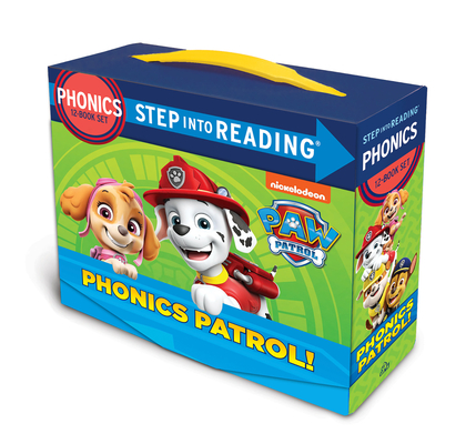 Phonics Patrol! (PAW Patrol): 12 Step into Reading Books Cover Image
