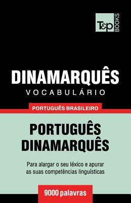 Vocabulário Português Brasileiro-Dinamarquês - 9000 palavras Cover Image