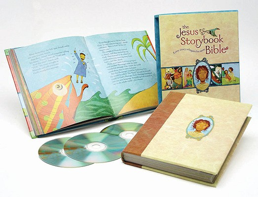The Jesus Storybook Bible Deluxe Edition [With CD (Audio)] Cover