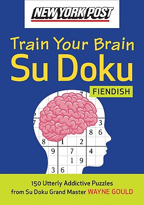 New York Post Train Your Brain Su Doku Cover