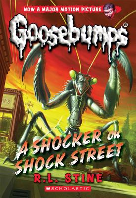 A Shocker on Shock Street (Classic Goosebumps #23) Cover Image