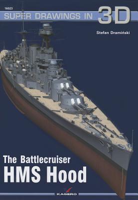 The Battlecruiser HMS Hood Cover Image
