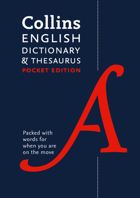 Collins English Dictionary and Thesaurus: Pocket edition Cover Image