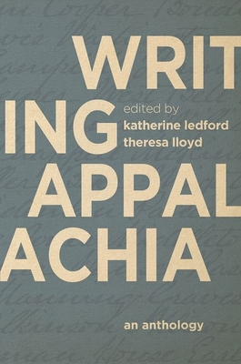 Cover for Writing Appalachia