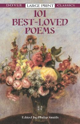 101 Best-Loved Poems (Dover Large Print Classics) Cover Image
