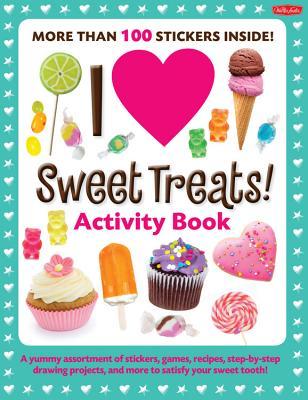 I Love Sweet Treats! Activity Book Cover