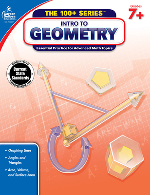 Intro to Geometry, Grades 7 - 8 (100+ Series(tm)) Cover Image