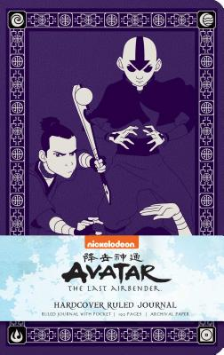 Avatar: The Last Airbender Hardcover Ruled Journal Cover Image