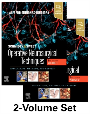 Schmidek and Sweet: Operative Neurosurgical Techniques 2-Volume Set: Indications, Methods and Results Cover Image