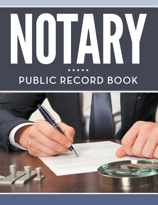 Notary Public Record Book Cover Image