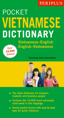Periplus Pocket Vietnamese Dictionary: Vietnamese-English English-Vietnamese (Revised and Expanded Edition) Cover Image