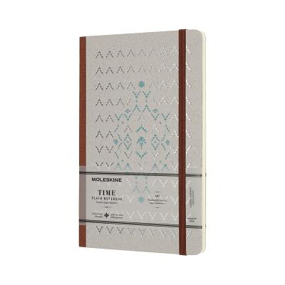 Moleskine Limited Collection Time Notebook, Large, Plain, Brown, Hard Cover (5 x 8.25) Cover Image