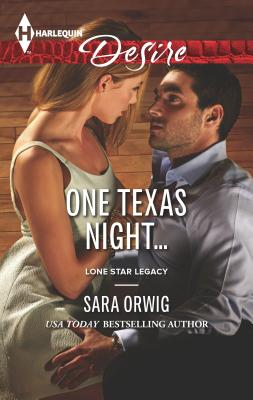 One Texas Night... Cover