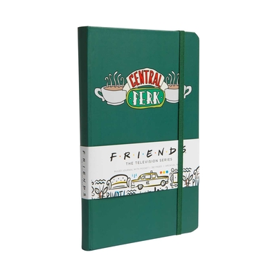 Friends Hardcover Ruled Journal  (90's Classics) Cover Image