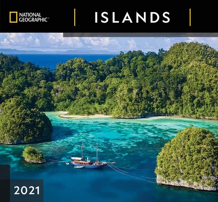 Cal 2021- National Geographic Islands Wall Cover Image