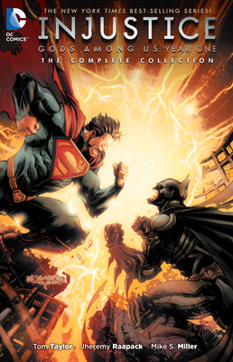 Injustice: Gods Among Us Year One: The Complete Collection cover image