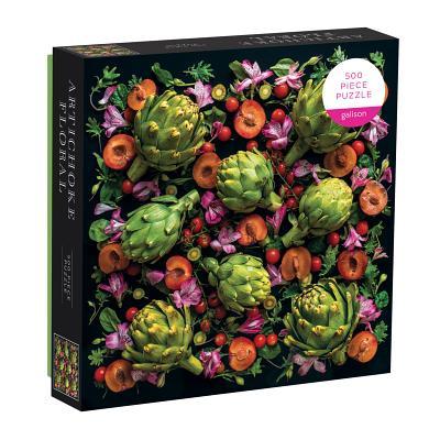 Artichoke Floral 500 Piece Puzzle Cover Image