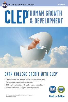Clep(r) Human Growth & Development Book + Online (CLEP Test Preparation) Cover Image