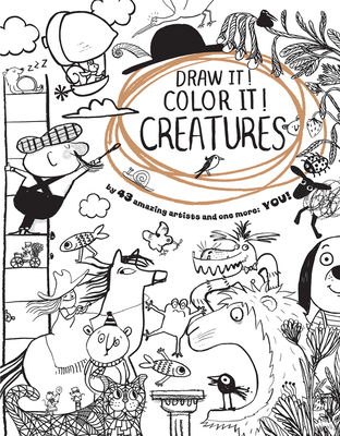 Draw It! Color It! Creatures Cover Image