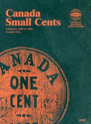 Canada Small Cents Collection 1920 to 1988 Number One (Official Whitman Coin Folder) Cover Image