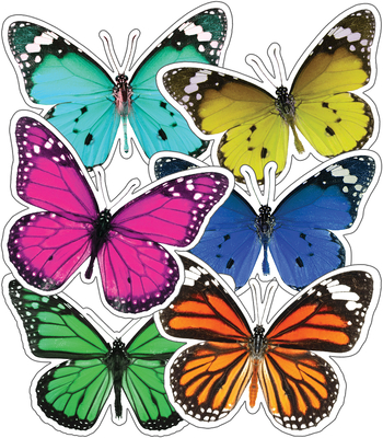 Woodland Whimsy Butterflies Cut-Outs Cover Image