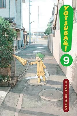 Yotsuba&!, Volume 9 Cover