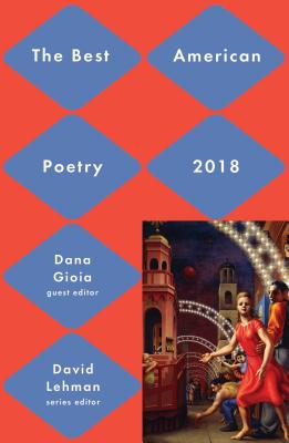 Cover for Best American Poetry 2018 (The Best American Poetry series)