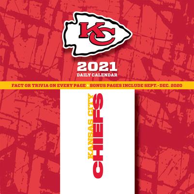 Kansas City Chiefs 2021 Box Calendar Cover Image