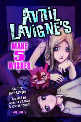Cover for Avril Lavigne's Make 5 Wishes   Volume 2