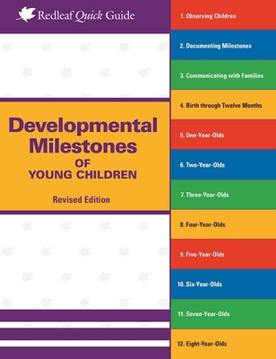 Developmental Milestones of Young Children (Redleaf Quick Guides) Cover Image