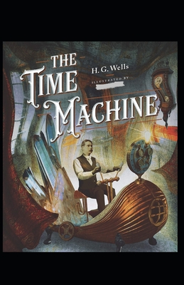 The Time Machine -illustrated Cover Image