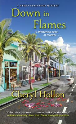 Down in Flames (A Webb's Glass Shop Mystery #6) Cover Image