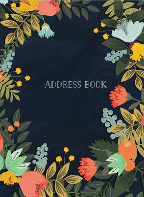 Address Book - Modern Floral Small Cover Image