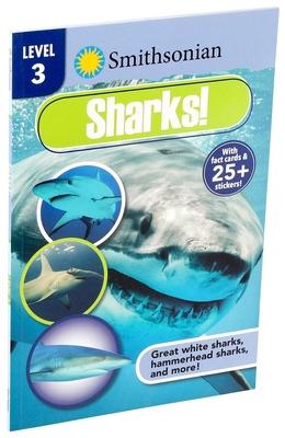 Smithsonian Reader Level 3: Sharks! (Smithsonian Leveled Readers) Cover Image