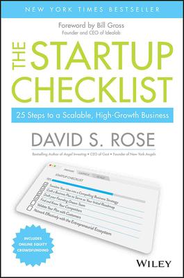 The Startup Checklist Book Cover