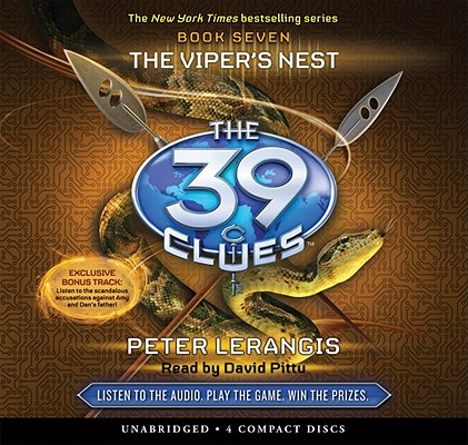 The The Viper's Nest (The 39 Clues, Book 7) Cover Image