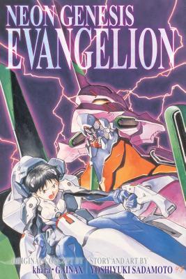 Neon Genesis Evangelion 3-in-1 Edition, Vol. 1: Includes vols. 1, 2 & 3 Cover Image