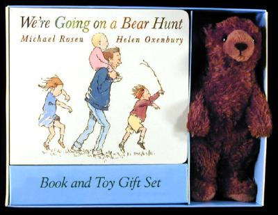 We're Going on a Bear Hunt Book and Toy Gift Set Cover Image