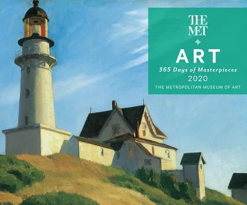 Art: 365 Days of Masterpieces 2020 Desk Calendar Cover Image