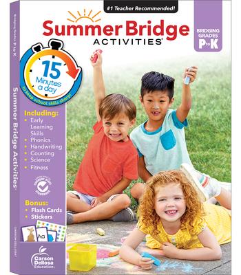 Summer Bridge Activities(r), Grades Pk - K Cover Image