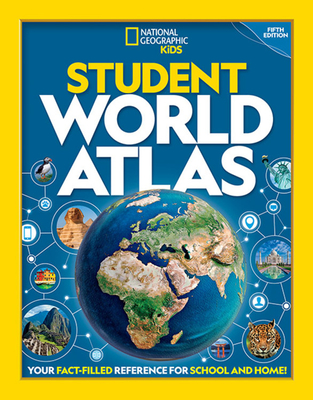 Student World Atlas book cover