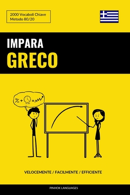 Impara il Greco - Velocemente / Facilmente / Efficiente: 2000 Vocaboli Chiave Cover Image