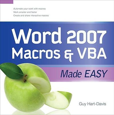Word 2007 Macros & VBA Made Easy Cover Image