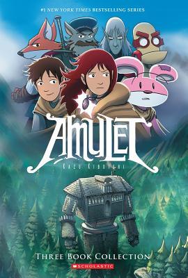 Amulet Boxset: Books 1-3 Cover Image