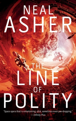 The Line of Polity: The Second Agent Cormac Novel Cover Image