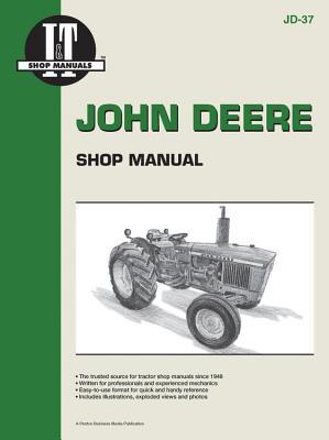 John Deere Shop Manual 1020 1520 1530 2020+ Cover Image